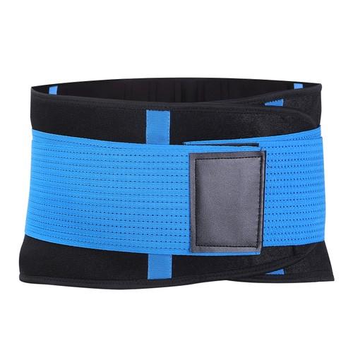 Unisex Back Support Belt Lumbar Lower Waist Brace