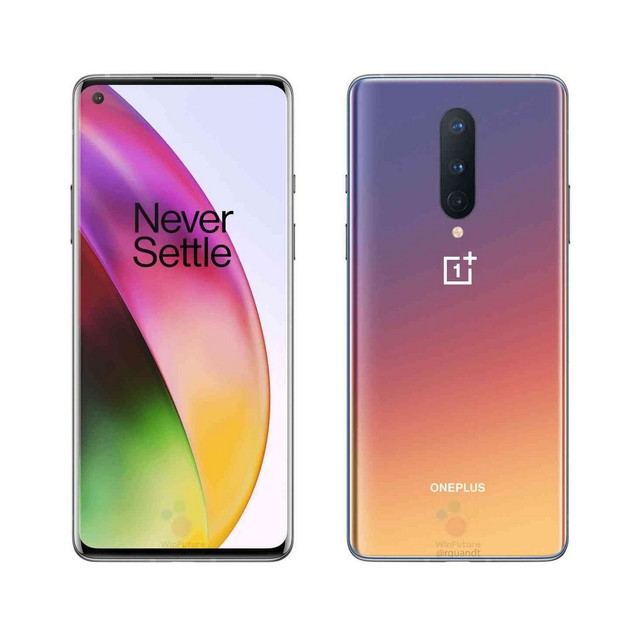 OnePlus 8 5G, T-Mobile, Gray, 128 GB, 6.55 in Screen
