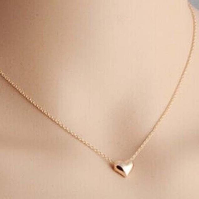 Elegant Tiny Love Heart Necklace