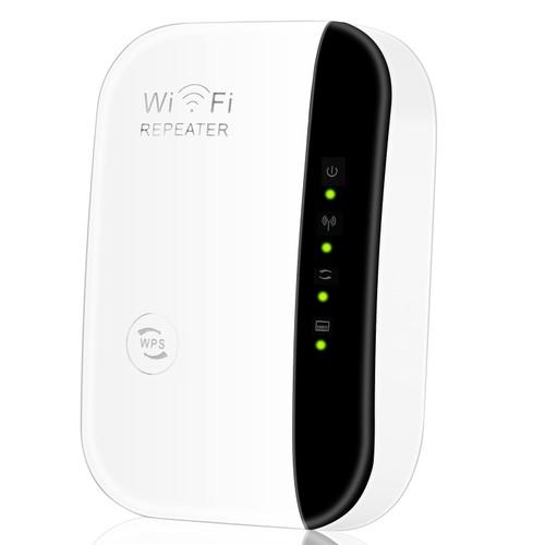 300Mbps WiFi Repeater 32.8ft/10m Wireless Range Extender 2.4GHZ