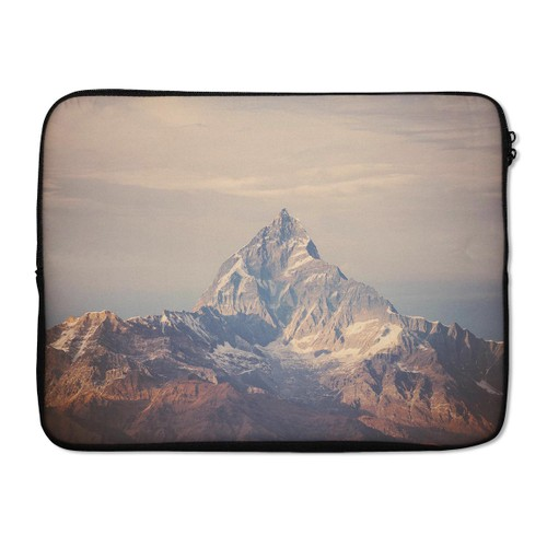 "EmbraceCase 15.6"" Ink-Fuzed Laptop Sleeve - Paramountain Top"