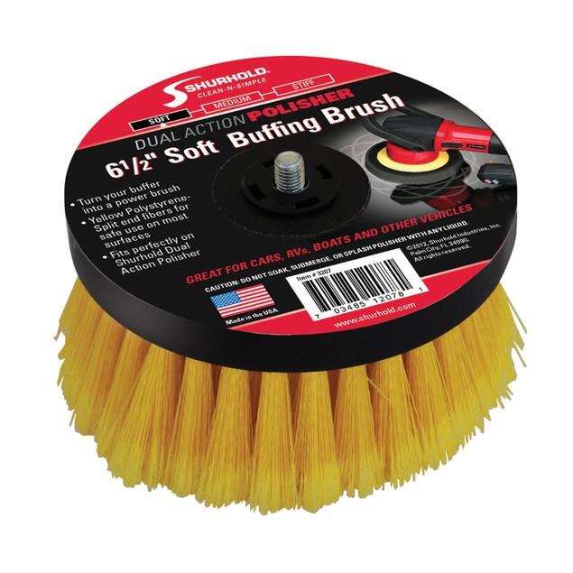 "Shurhold 6-1/2"" Soft Brush f/Dual Action Polisher"