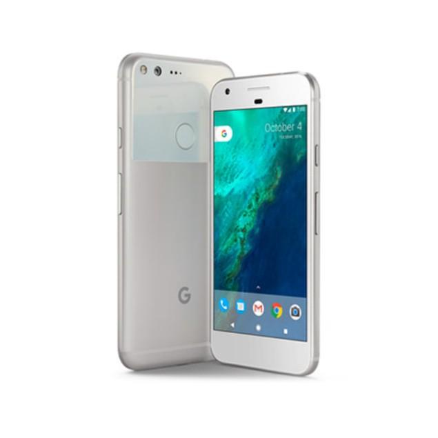 Google Pixel XL, Unlocked, Grade B-, Silver, 128 GB, 5.5 in Screen