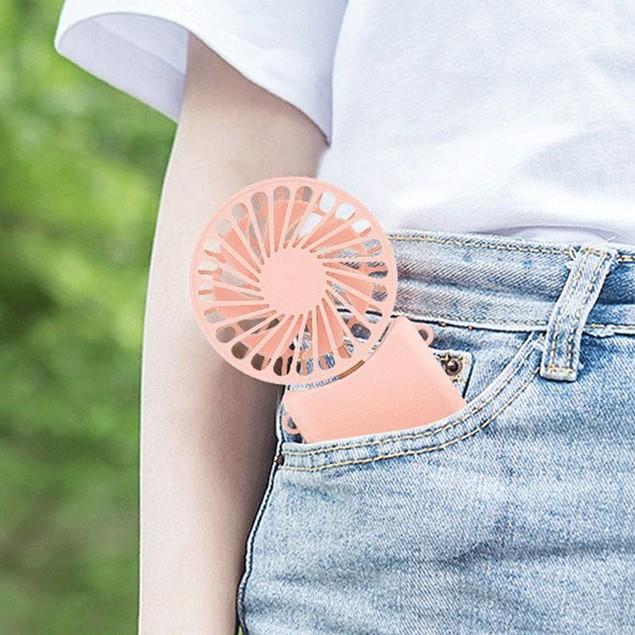 USB Mini Portable Lazy Dormitory Student Folding Fan Handheld
