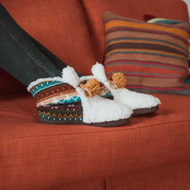MUK LUKS ® Women's Jackie Slipper Booties