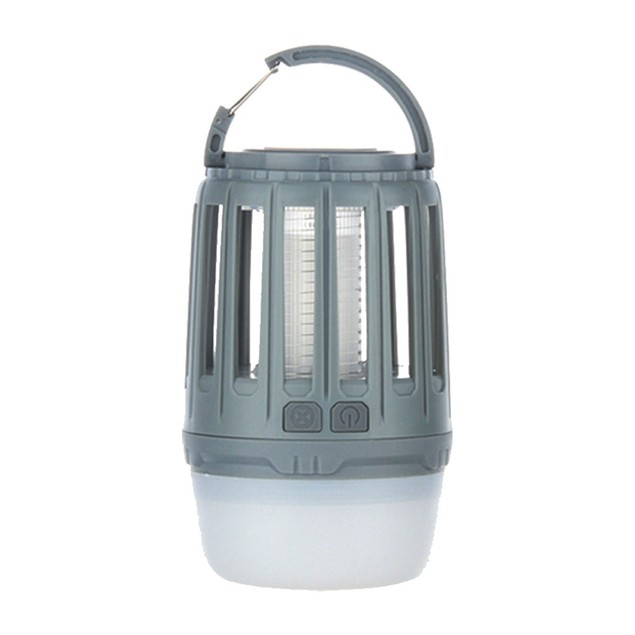 3-in-1 Waterproof Lantern Bug Zapper with 1800mAh Rechargeable Battery