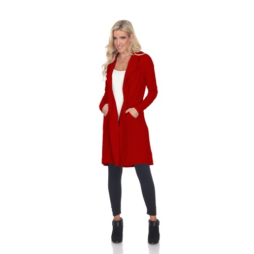 Hooded Cardigan - Extended Sizes