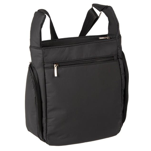 Wash and Wear Multi-Pocket RFID CrossBody Organizer Day and Travel Bag
