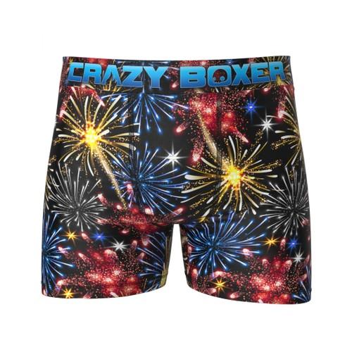 Merica Fireworks Men's Boxer Briefs Shorts