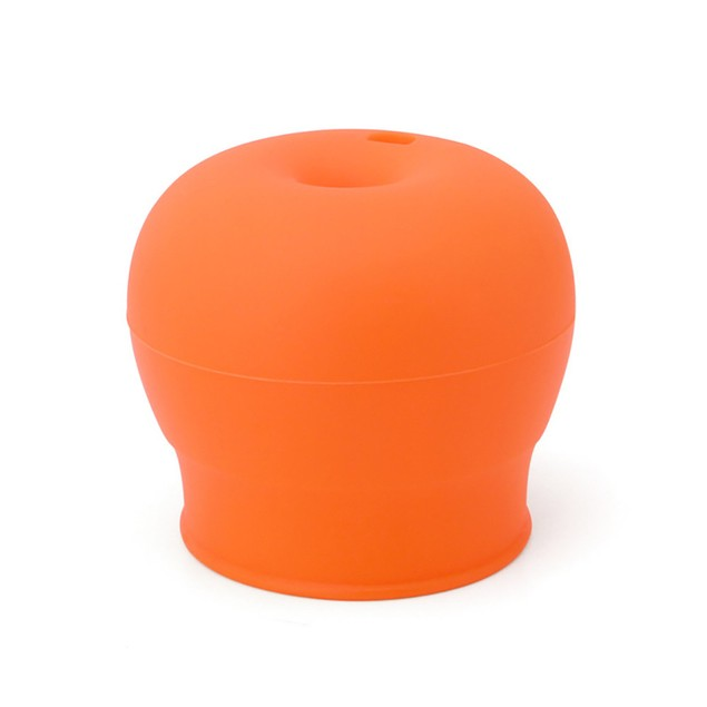 Universal Silicone Spill-Proof Sippy Cup Straw Lids Glassware Lid
