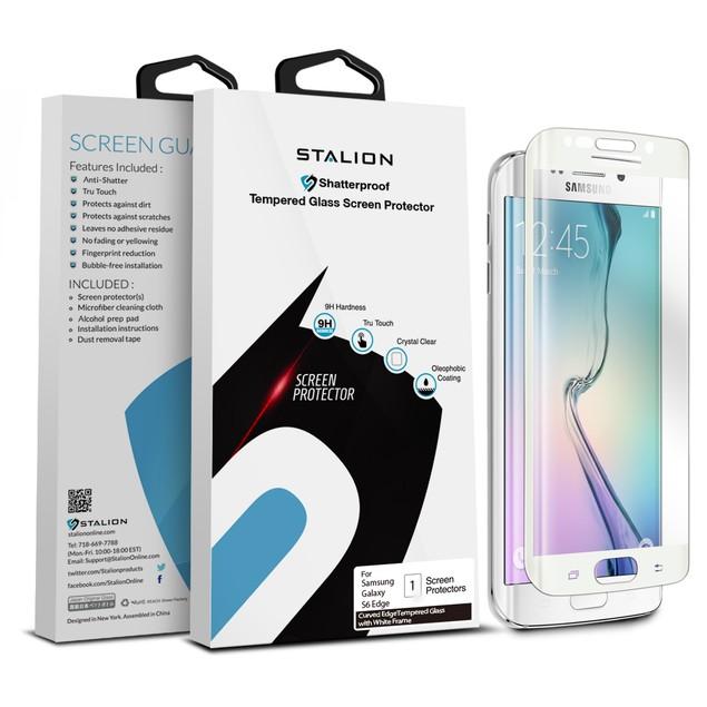Stalion Shield Premium Screen Protector Film Guard for Galaxy S6 Edge