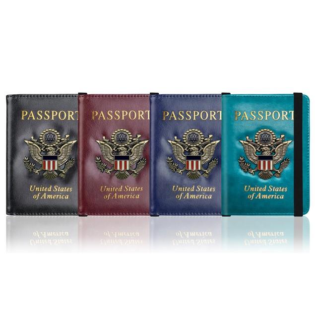 RFID Blocking Wallet & Vaccination Card/Passport Holder