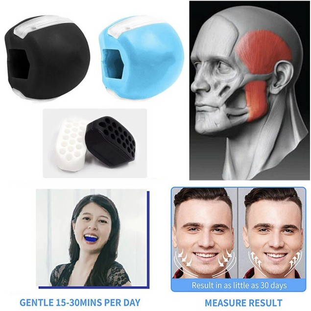 Unisex Facial Exerciser - Workout for Jaw, Neck, Cheeks, Double Chin
