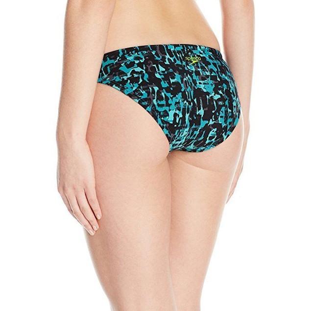 Speedo Women's Endurance Lite Print Bikini Bottom Sz: 4