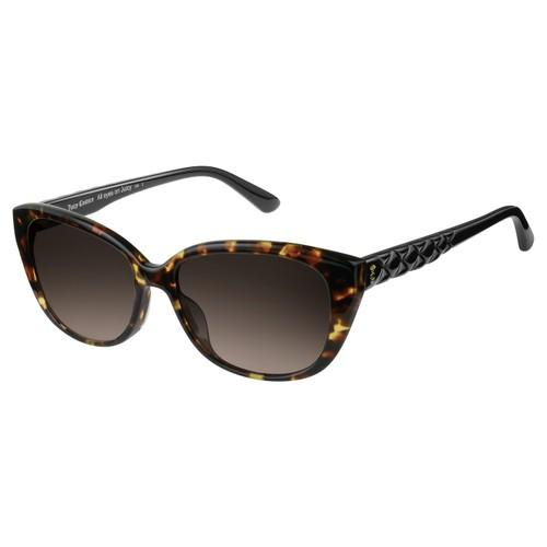Juicy Couture Women Sunglasses JU600S 0086HA Dark Havana Cat Eye Gradient