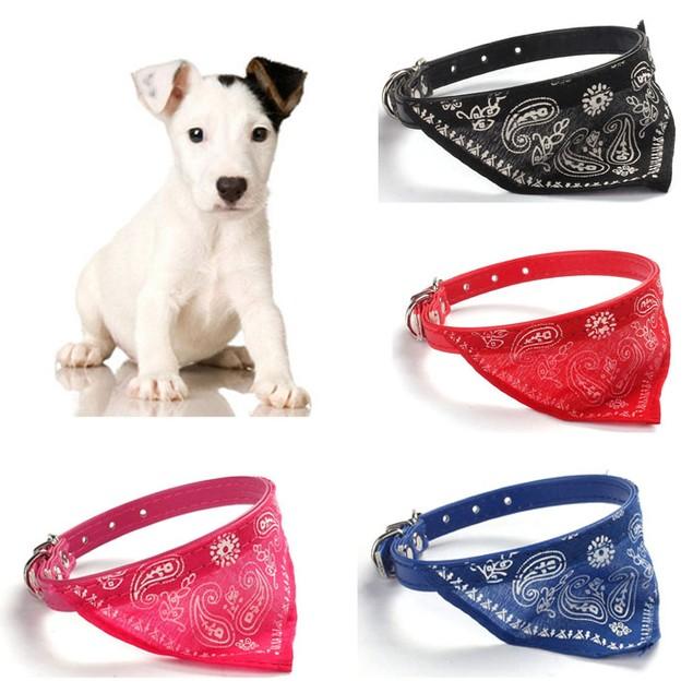 Adjustable Pet Neckerchief Collar