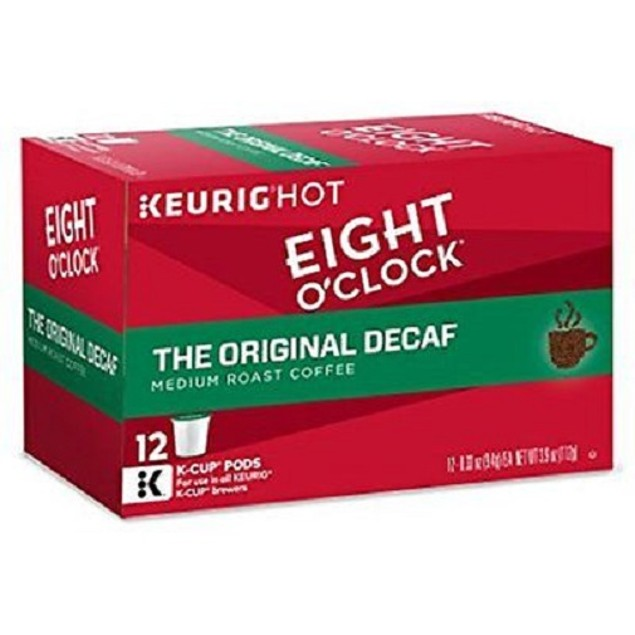 Eight O' Clock The Original Decaf Coffee Keurig K Cup 2 Box Pack