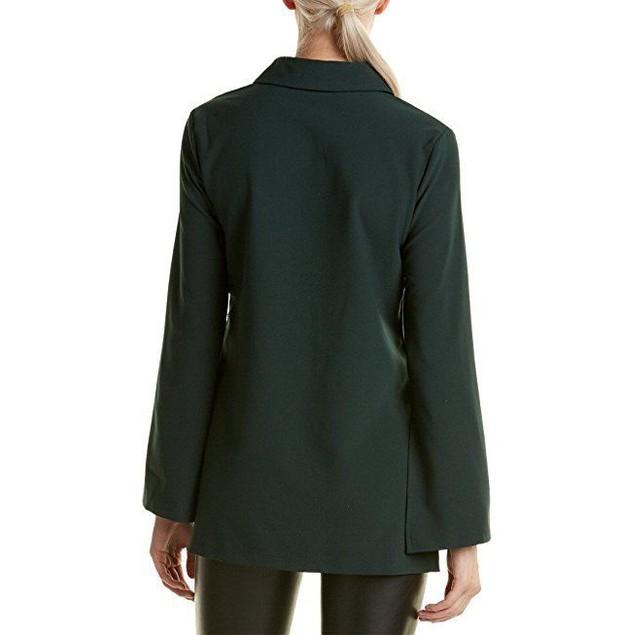 ROMEO & JULIET COUTURE Women's Button Up Shirtdress Emerald Dress Sz M
