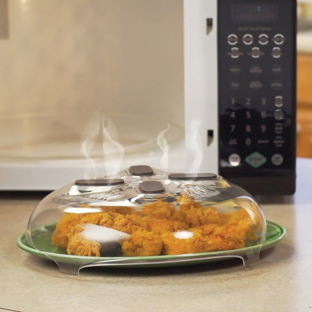 Food Splatter Guard Microwave Hover Anti-Sputtering Cover