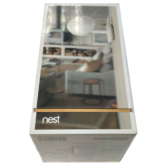 Nest NC3100US Cam IQ Indoor Security Camera - White