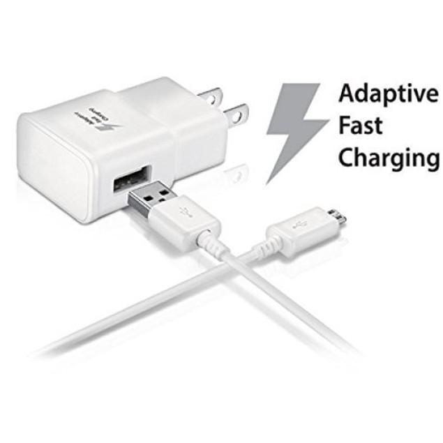Samsung Adaptive Fast Charging Home & Car Charger Combo (Refurbished)