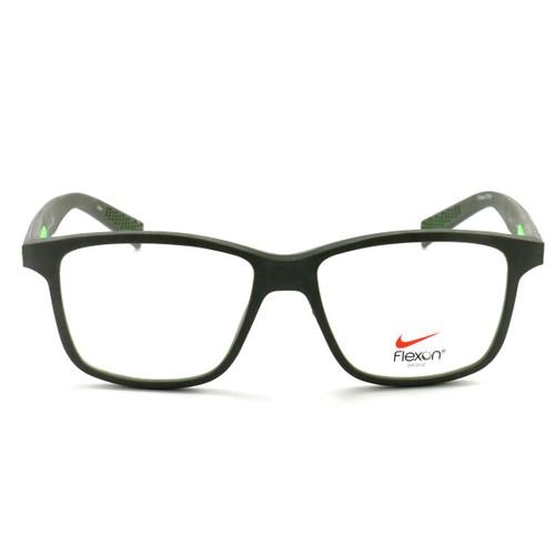 Nike Eyeglasses NIKE 4265 237 Cargo Khaki/Green Stike 54 16 145 Rubber Demo Lens