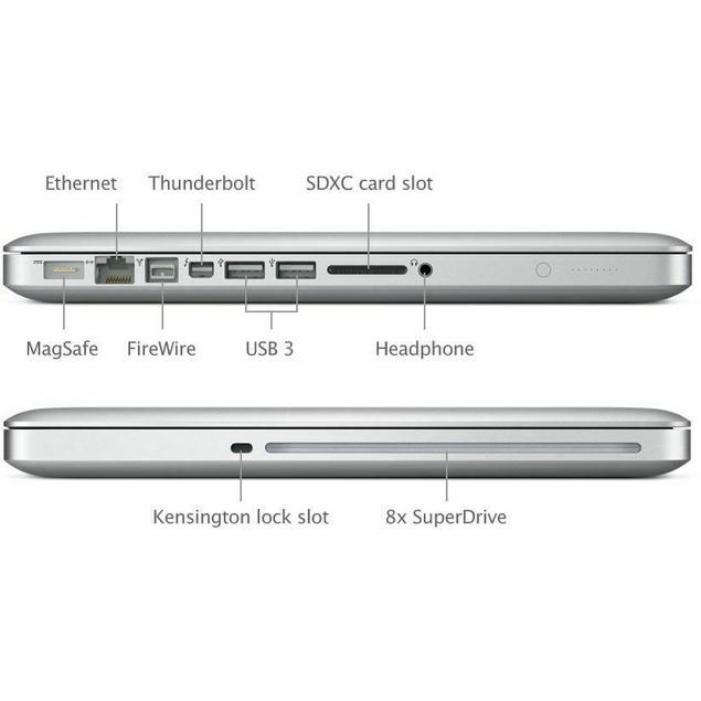 "Apple MacBook Pro Laptop Core i7 2.8GHz 4GB RAM 256GB HD 13"" - MD314LL/A (2011)"