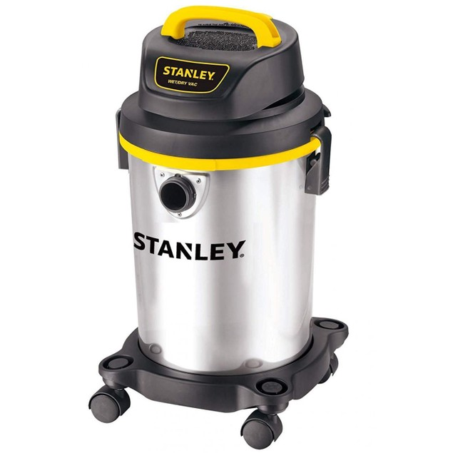 Stanley Wet/Dry Vacuum, 4 Gallon, 4 Horsepower