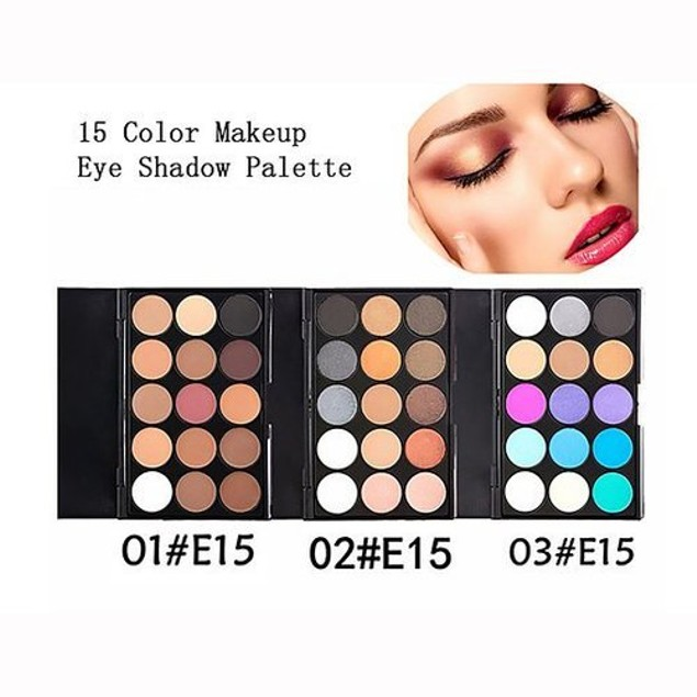 Eyeshadow Makeup Palette 15 Colors-4 Palettes To Choose From