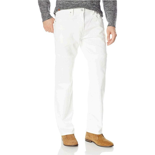 Levi's Men's 569™ Loose Straight Fit Jeans White Size 31x30