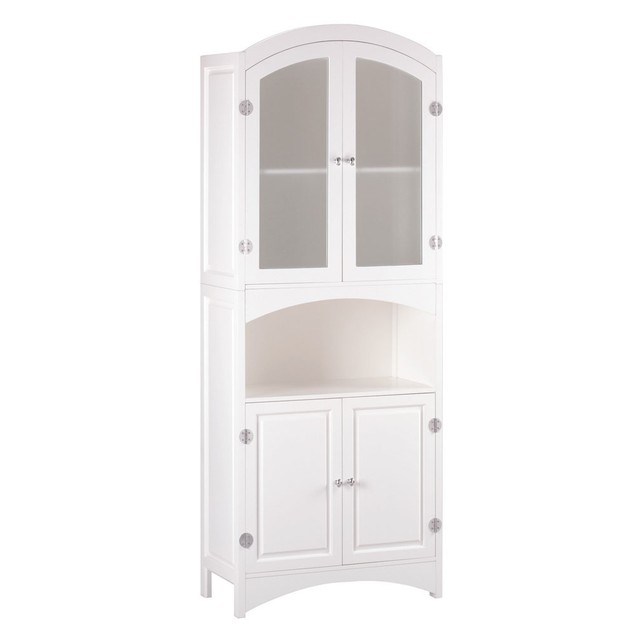 Koehler Home Decor Wooden Linen Cabinet