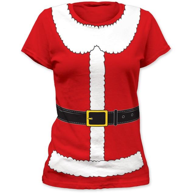 Mrs. Santa Claus Womens T-Shirt Costume