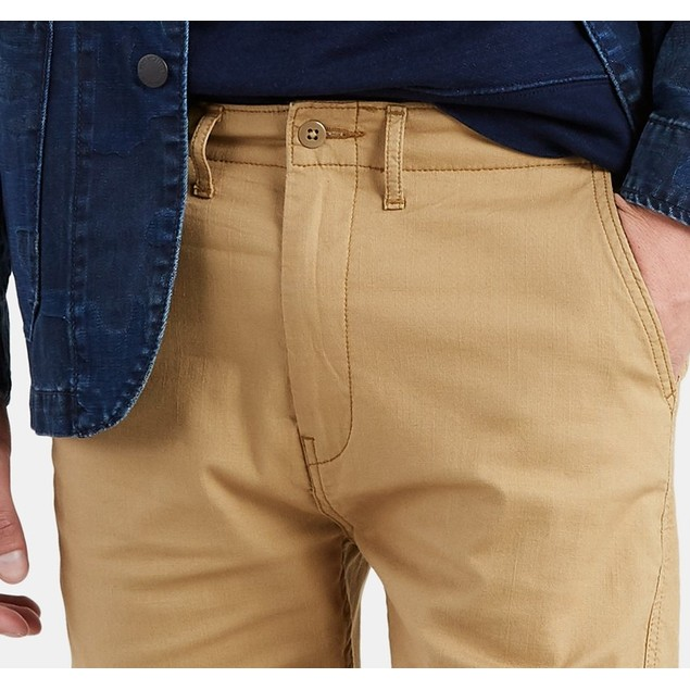 "Levi's Men's 502 Chino 9 1/2"" Shorts Brown Size 44 Regular"