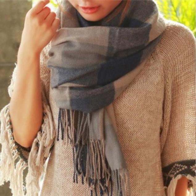 Wool Blend Shawl