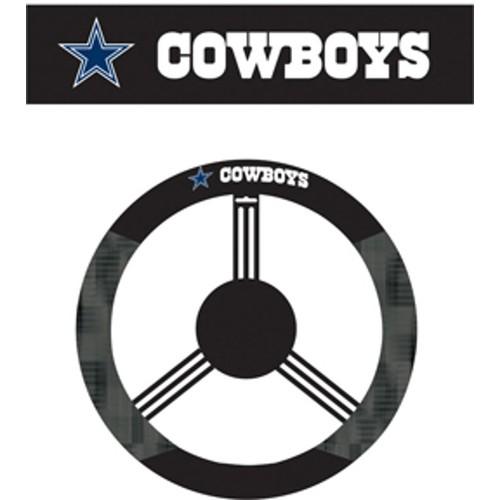 Dallas Cowboys Steering Wheel Cover NFL Football Team Logo Poly Mesh