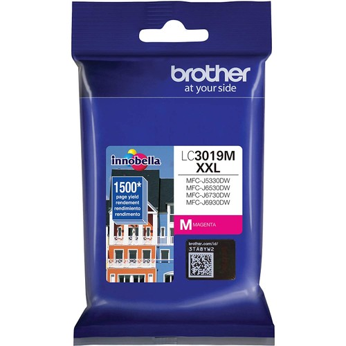 Brothers Brother Super High Yield Ink Cartridge Magenta 1 Pack LC3019M