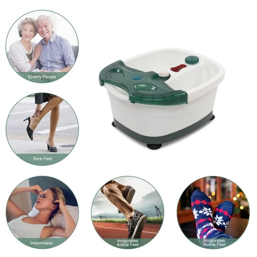 Stress Relief For Tired Feet Foot Spa Foot Bath Massager