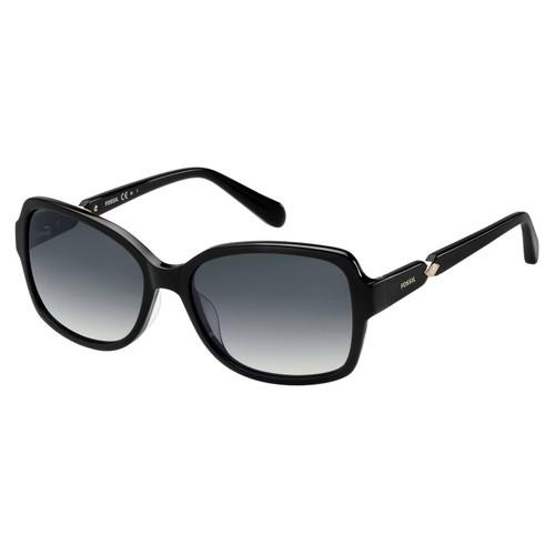 Fossil Women Sunglasses FOS2073S 0807 Black 56 17 135 Butterfly