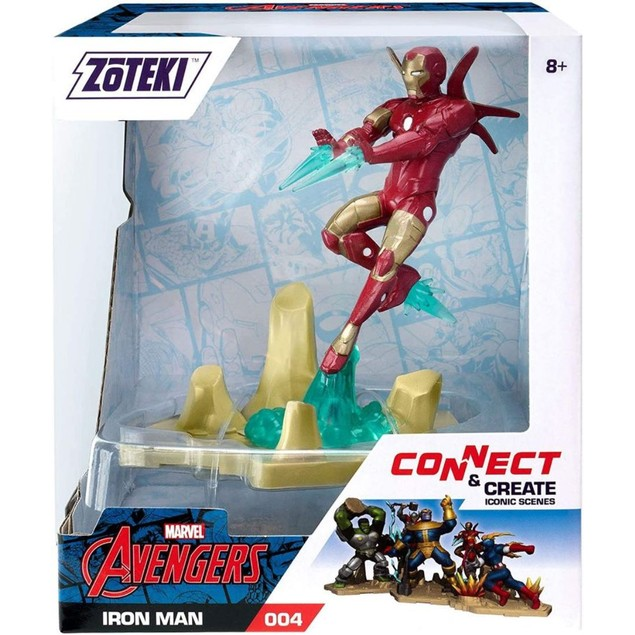 Zoteki Jazwares Connect & Create Avengers Series Iron Man Collectible
