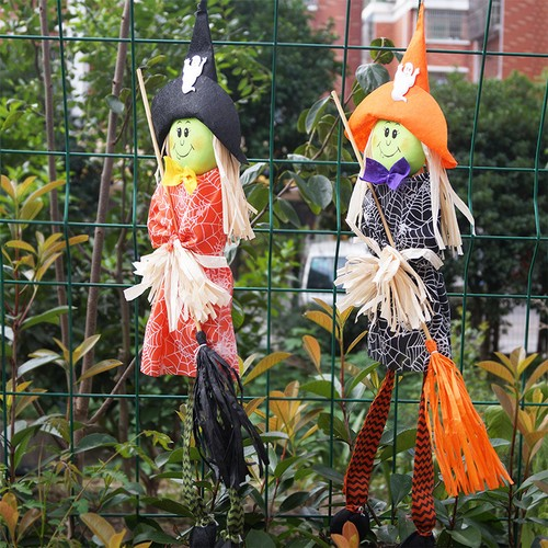 Halloween Evil Wizard Broomstick Ghost Ghost Festival Decoration