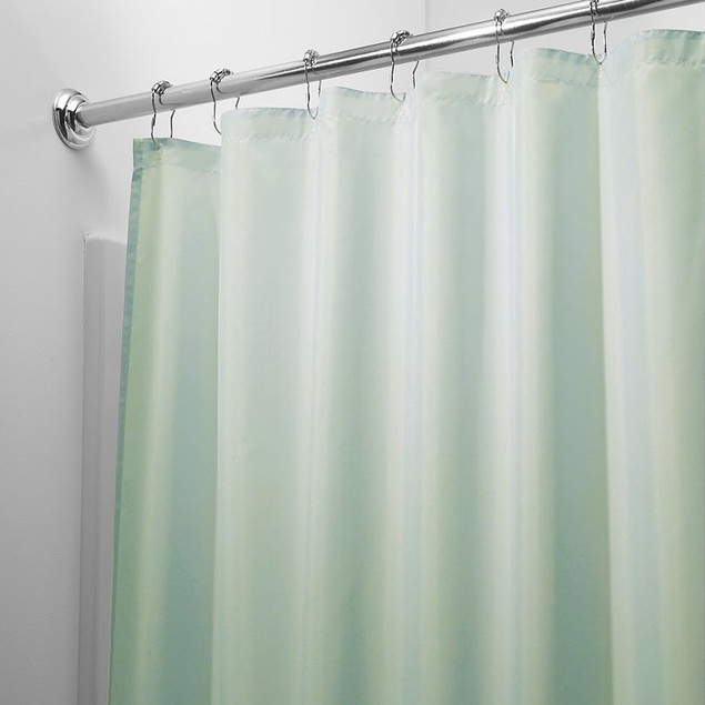 Magnetized Shower Curtain Liner - Assorted Colors