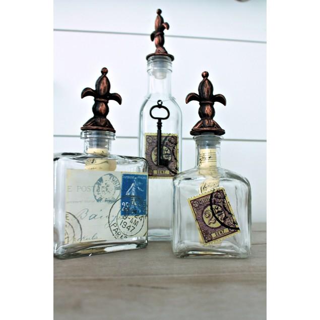 Fleur De Lis Bottles