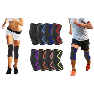 2-Pack DCF Knee Compression Sleeve Support