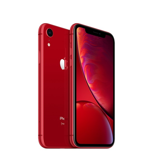 Apple iPhone XR, AT&T, Red, 64 GB, 6.1 in Screen