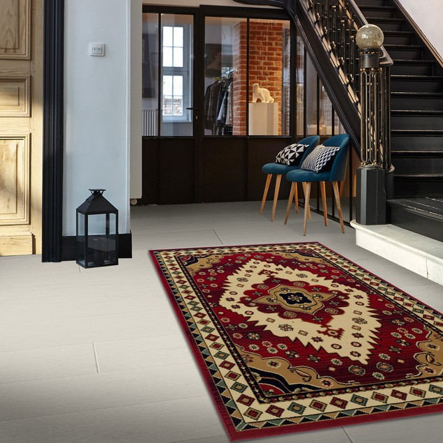 Classic Aztec Area Rug Collection