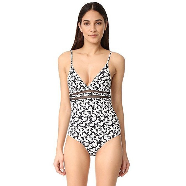 Stella McCartney Women's Iconic Print One-Piece SZ M