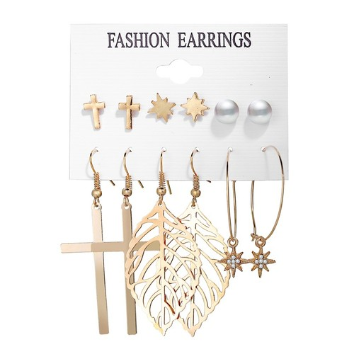 Creative And Simple Earring Set