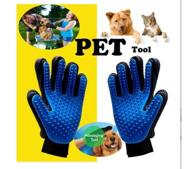 2-Pack Pet Bath Gloves Silicone Remove Hair Dirt and Massage Brush Was: $15.99 Now: $9.99.