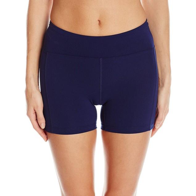 TYR Women's Solid Kalani Shorts, Navy SIZE LARGE (10/12)