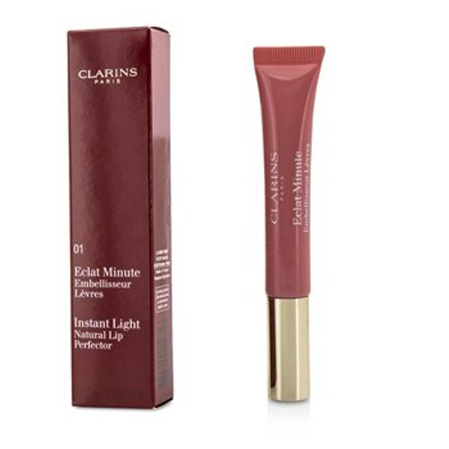 Clarins Eclat Minute Instant Light Natural Lip Perfector - # 01 Rose Shimmer